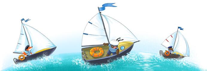 Yaсht, regatta.