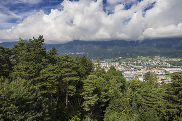 View of Innsbruck Town (Austria)