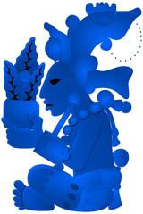 Maya - Yum Kaax - Blue