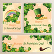 St.Patrick's Day banners.
