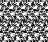 Seamless Circular Floral Pattern