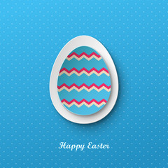 Bright vector easter background