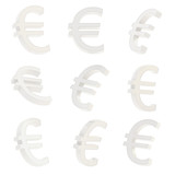 Euro currency sign render