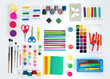 Set of tools for painting drawing modeling and applique