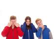 Teenager – nicht sehen, hören, sprechen