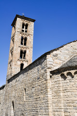 Iglesia románica de Santa María de Taüll, Cataluña (España)
