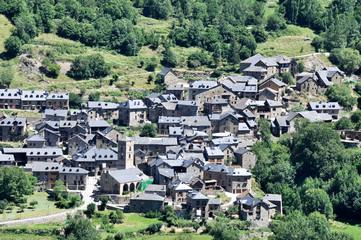 Pueblo de Durro, Vall de Boí (España)