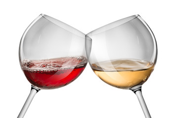 Moving red and white wine