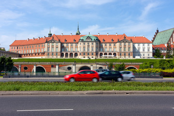 Royal Castle, landmark in Warsaw City