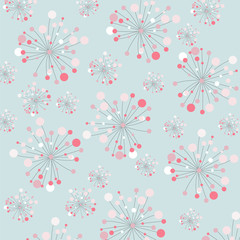 floral background, seamless pattern
