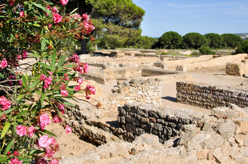 Ruins of Empuries, ancient greek and roman city, Catalonia