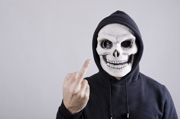 Obscene skull