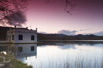 Banyoles lake, Girona, Catalonia, Spain