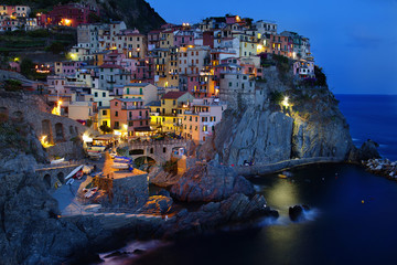 Manarola.Liguria,Italy.