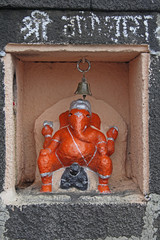Elephant Headed Indian Lord Ganesha