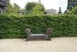 bench, Hesrstmonceux Castle garden,east sussex,
