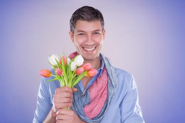 flower man