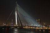 Erasmus bridge in Rotterdam.
