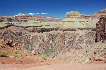 Colorful Grand Canyon scenery, Arizona, USA