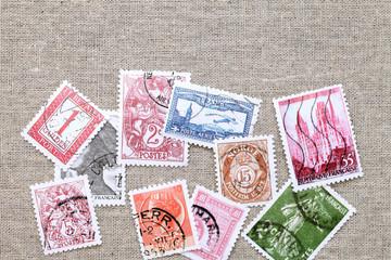 古い外国切手