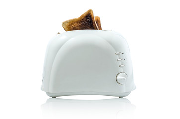 Toast in a toaster Path does not include shadow under toaster
