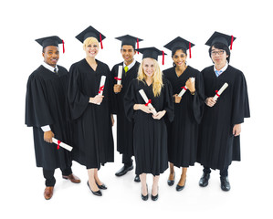 Graduating Students with Certificates