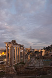 Ancient Roman ruins of Fori Imperiali