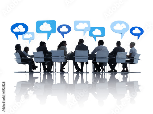 Business Communications with Cloud Computing
