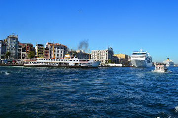 Ships in Istanbul