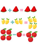 fruits to learn mathematics