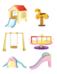 set of playground