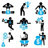 business people, money concept