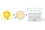 tech start up, business startup poster