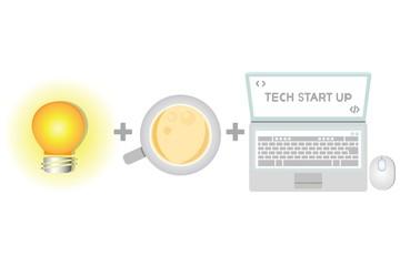 tech start up, business startup