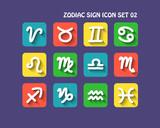 zodiac icon set 02