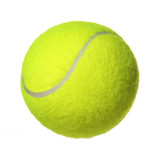 Tennis Ball isolated on white background. Closeup - 61926127