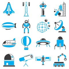 space ship icons