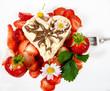 Liebe zu Erdbeeren, fruchtiger Sommer-Genuss :)
