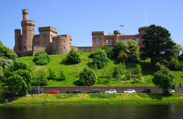 Castle in Inverness, Scotland