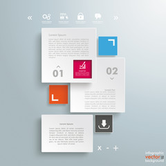 Rectangles E-Commerce Template 2 Options Additional