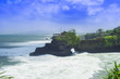 Tanah Lot. Ocean and Clouds.
