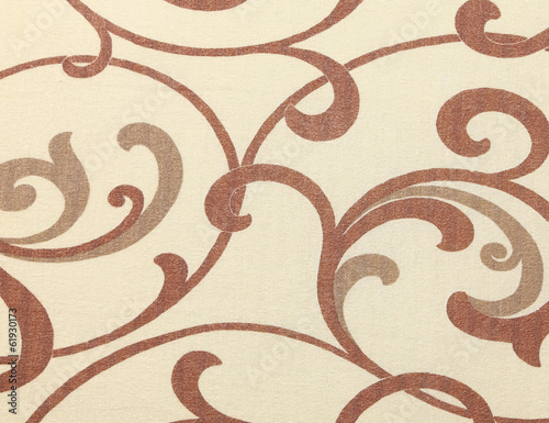 Beige texture with ornament.