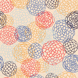Seamless japanese style pattern. illustration