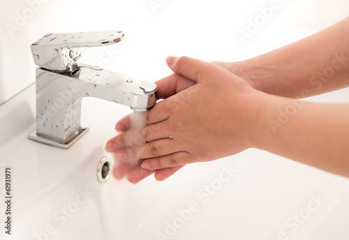 Washing of hands