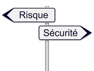 Panneaux indicateurs risque, sécurité