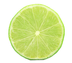 Fresh slice of lime.