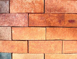 foam board texture background arrange like brick