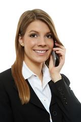 Frau mit Telefon 2