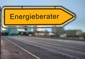 Strassenschild 14 - Energieberater
