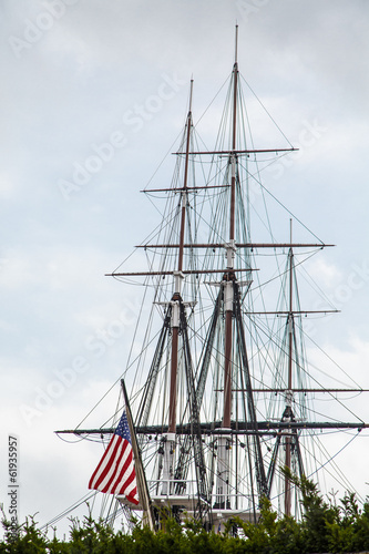 Masts on American Tall Ship